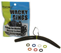 Wacky Rings for Rigging Wacky Rig Worms and Neko Rig Worms